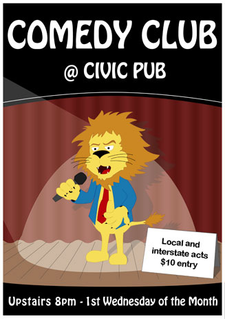 Comedy Club at Civic Pub